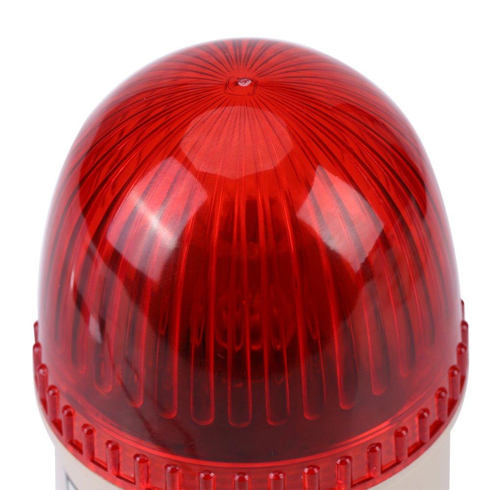 220 V 15 W LED luz estrobosc/ópica de advertencia advertencia de luz intermitente para m/áquina industrial herramienta