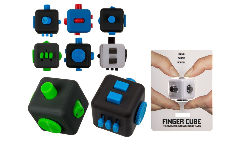 Fidget Cube Spinner Anti Stresswürfel Fingerwürfel Spielzeug zum Stressabbau