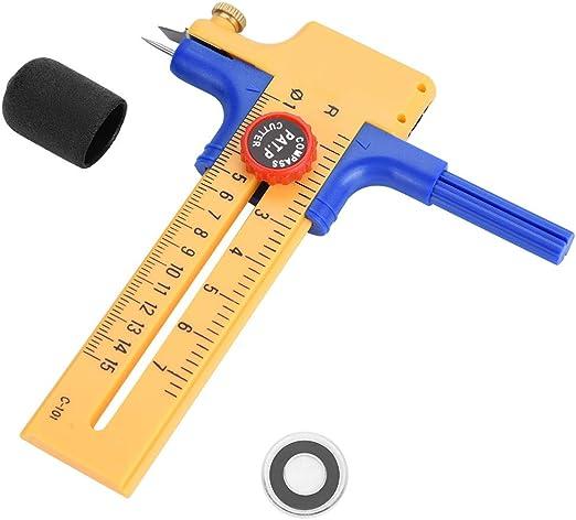 Compas Cutter Coupe Cercle Rotatif Outil Papier Vinyle Cuir Scrapbooking scie