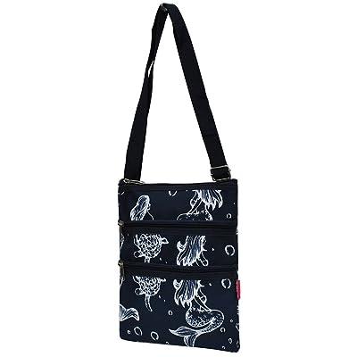 Mermaid Print NGIL Messenger Hipster Bag