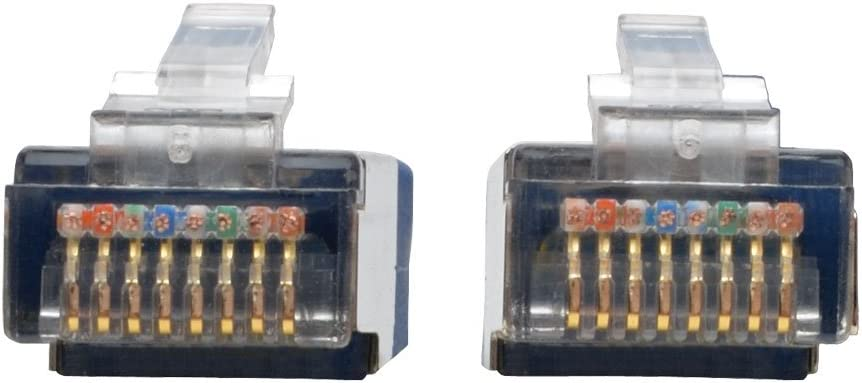 Gray RJ45 M//M N105-010-GY Tripp Lite Cat5e 350MHz Molded Shielded Patch Cable STP 10-ft.