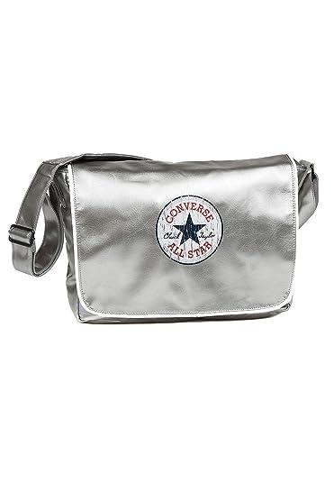 83175e5294 Converse Women s VINTAGE PATCH SHOULDER Flap BAG Messenger Bag Size  One  Size