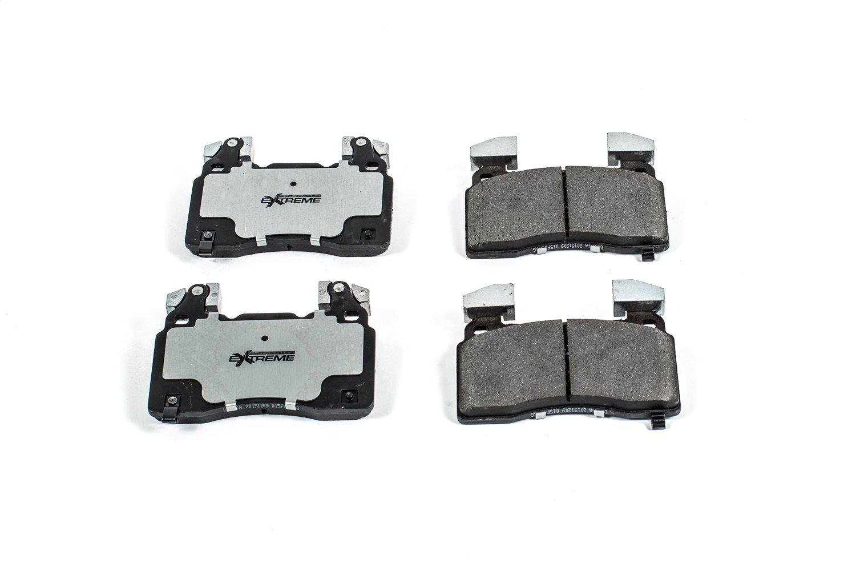 Power Stop Z26-1474A Z26 Extreme Performance Carbon-Ceramic Front Brake Pad Set