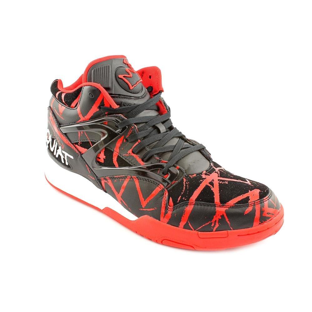 Reebok The Basquiat Pump Omni Lite Sneaker,10,Red