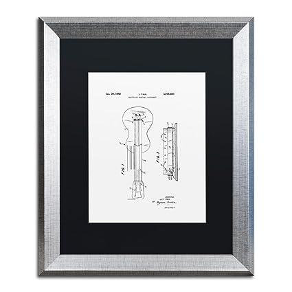 Trademark Marca Fine Art cdo0181-s1620bmf Gibson guitarra eléctrica ...