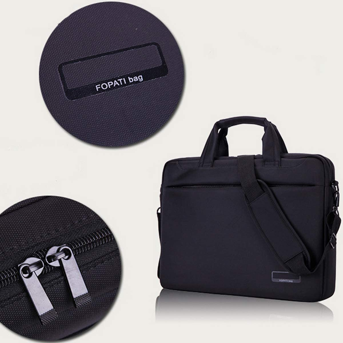 YDSH 12 inch Laptop Case Protective Bag Carrying Case with Strap for Chromebook//MacBook//HP//Acer//Asus Dell//Lenovo Laptop Shoulder Bag Multi-Functional Notebook Sleeve