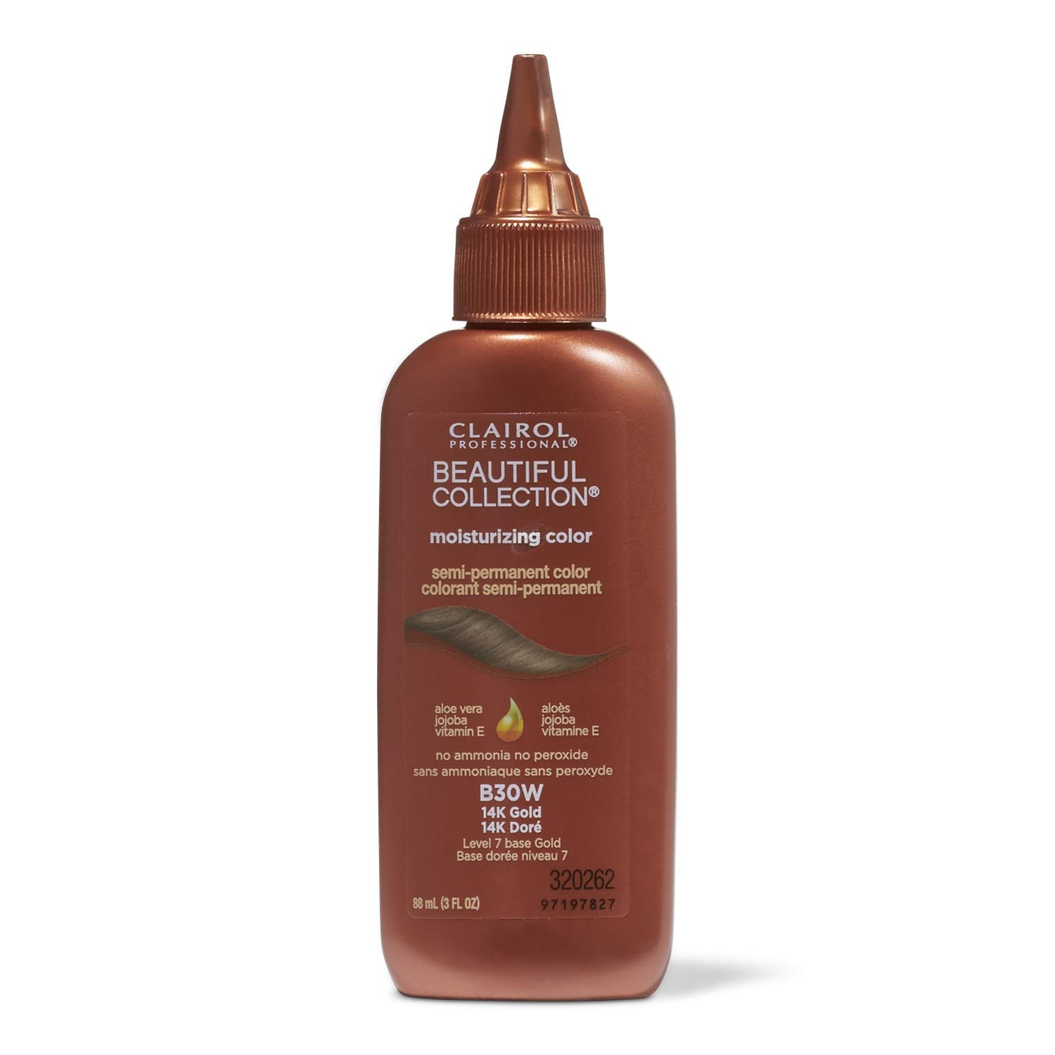 Clairol Beautiful Collection #B030W 14K Gold 3 Ounce (88ml)