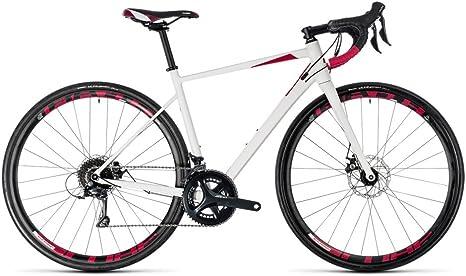 Bicicleta de carretera Cube Axial WS Pro Disc White N Berry 2018 ...