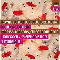 Poulenc: Gloria / Honegger: Symphony No. 3 ~ Jansons [Hybrid SACD]