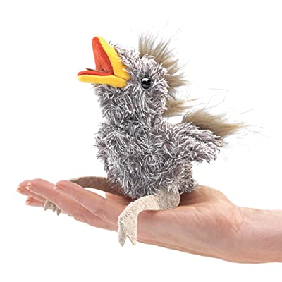 Folkmanis Mini Baby Bird Finger Puppet: Toys & Games