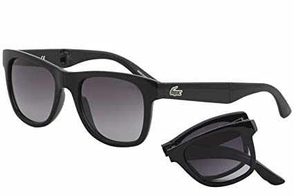 4f82da56b8c Amazon.com  Lacoste L778S (001) Black Sunglasses 52mm  Sports   Outdoors