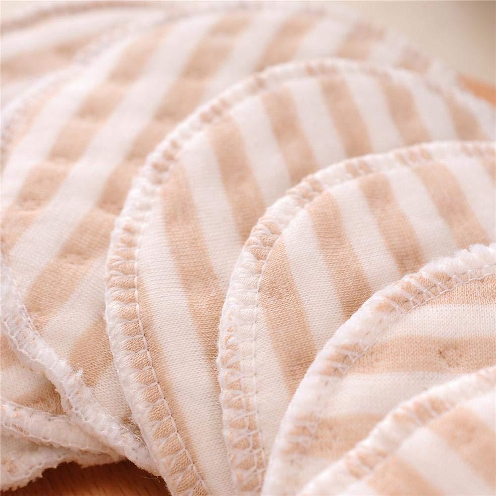 chifans 50 ST/ÜCKE Waschbare Stilleinlagen Stilleinlagen aus Bio-Stilleinlagen Waschbar Hautfreundlich Wiederverwendbar mit W/äschenetz