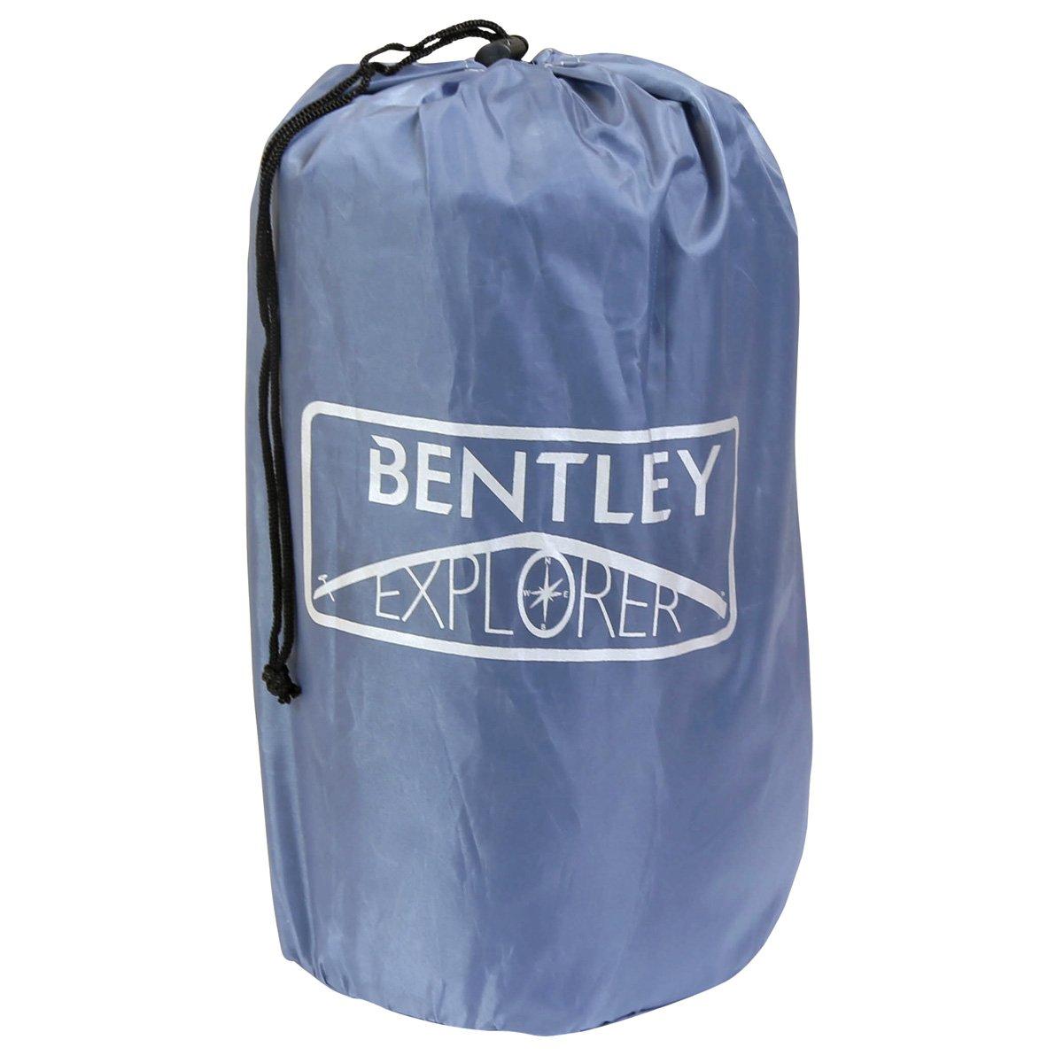 /erh/ältlich in blau grau Bentley selbst aufblasende Camping Rolle Matte mit Kissen/ gr/ün und schwarz