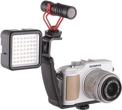 Runshuangyu - Soporte estabilizador para cámara de vídeo para ...