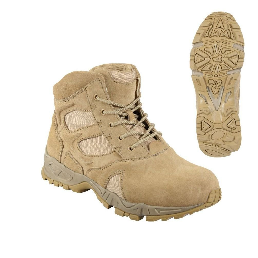 """6"""" Desert Tan Forced Entry Tactical Military Army Sport Deployment Boot"""