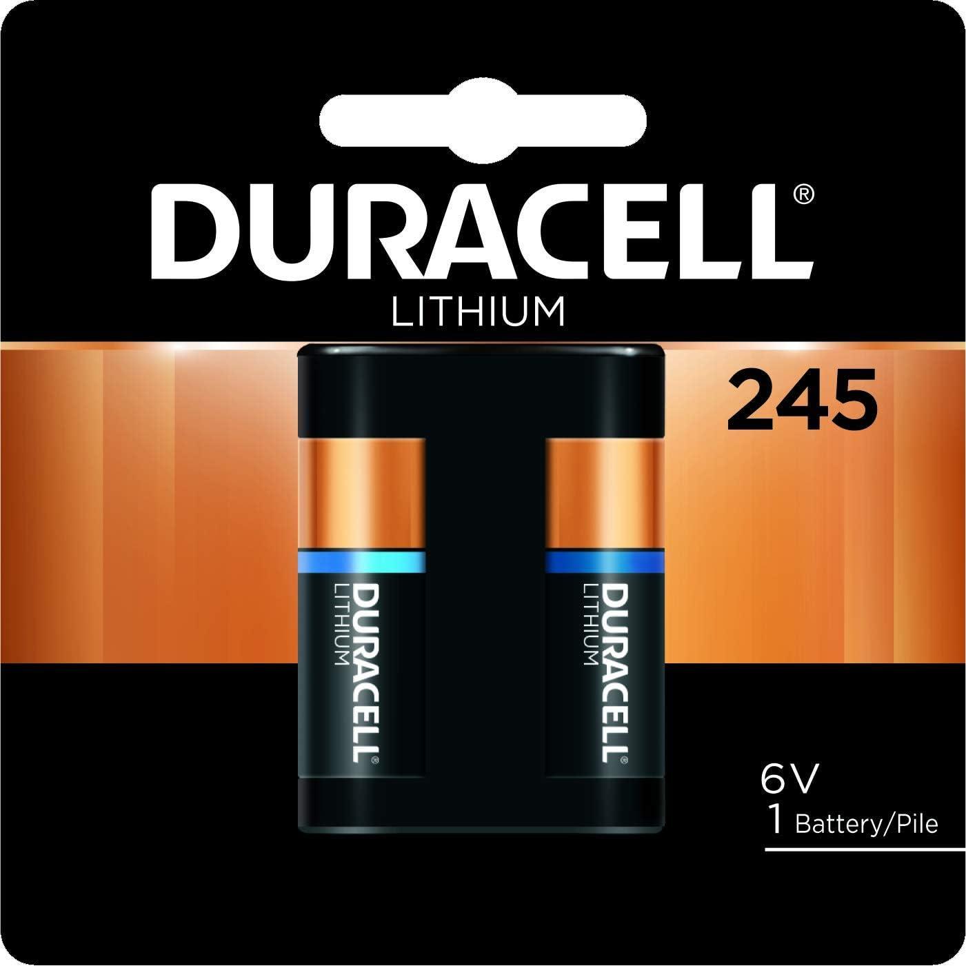 Duracell 2CR5 245, Pila especial para cámaras fotográficas 245 B1 ...