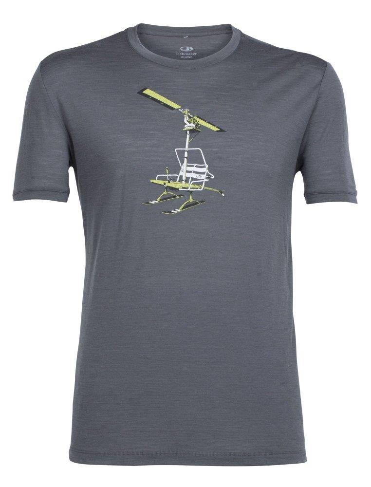 Icebreaker Herren T-Shirt Tech Lite Ss Crewe Chair Lifter