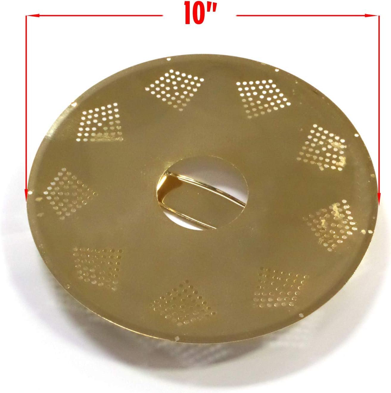 Kay 10 Brass Replacement 6 String Perforated Diamond Pattern RP10B Upgrade Resonator Plate