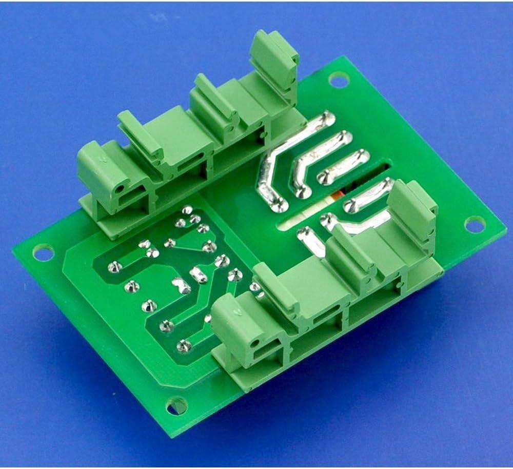 20 piezas SPTwj 10 juegos PCB DIN C45 Rail adaptador placa de circuito soporte soporte Carrier