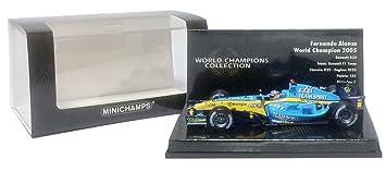 Minichamps Modelo uno y Cuarenta y Tres Renault F1 R25 - Fernando Alonso - Campeón del Mundo 2005