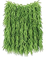 Tropical Fern Leaf Hula Skirt (green) Party Accessory (1 count)
