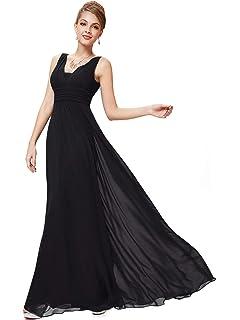 5fc1d8f30e0 Ever-Pretty Double V-Neck Elegant Ruched Waist Ladies Long Evening Dress  08110