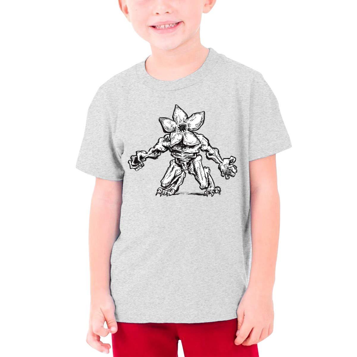 S-S-Stranger Thing-s Fan Short-Sleeve Tops Children Tee Teenage Halloween Tshirt for Boy Girl Black Magicuas Kid T Shirt