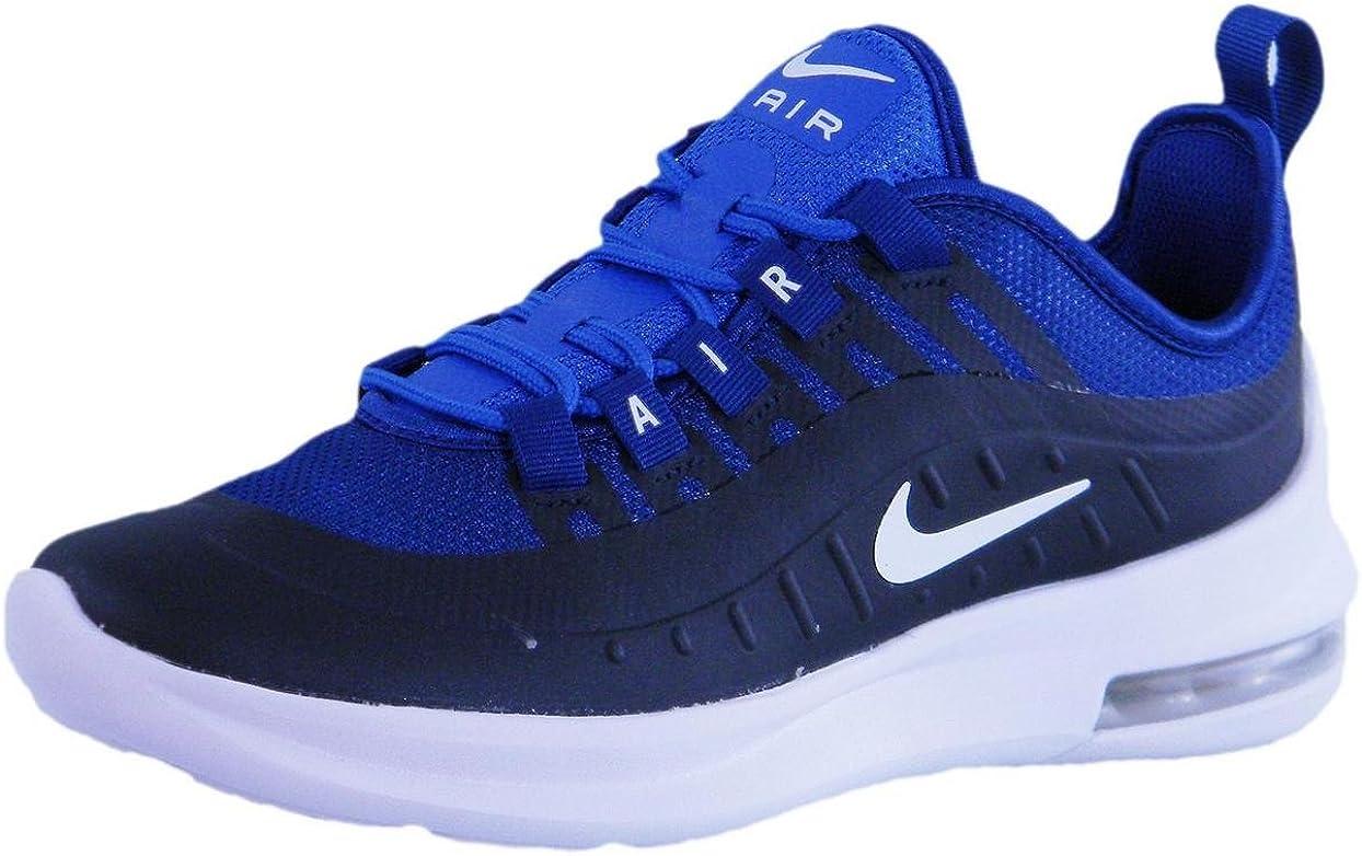 Nike, Bambino, Air Max Axis GS, Tessuto Tecnico, Sneakers, Blu