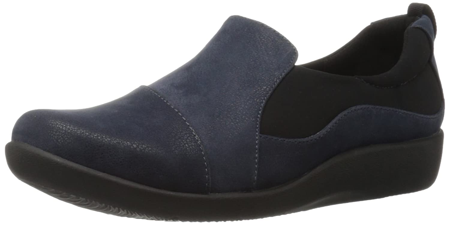a52f41855432b Amazon.com | Clarks Women's CloudSteppers Sillian Paz Slip-On Loafer | Shoes