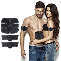 Rich N Royal Abdominal Muscle Exerciser Stimulator Fitness Gym Abs Stickers Pad For Body Slimming For Unisex