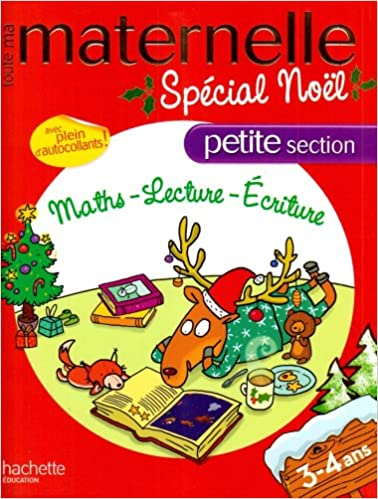 Amazon Fr Toute Ma Maternelle Petite Section Special Noel