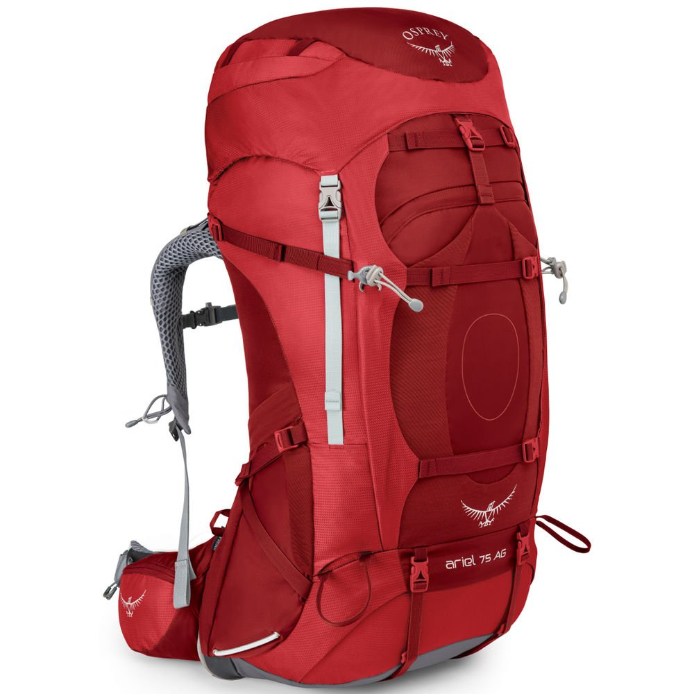 Osprey Packs Ariel AG 75L Backpack - Women's Picante Red, S