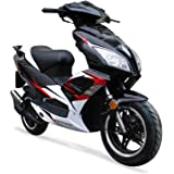 Scooter 50cc FUSION 50 - 2 Temps - JIAJUE - Noir - 2018