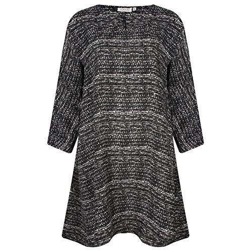 Masai Clothing - Vestido - para mujer Black Org