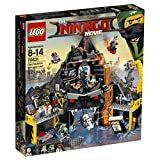 Best Ninjago Sets - LEGO Ninjago Movie Garmadon's Volcano Lair 70631 Building Review
