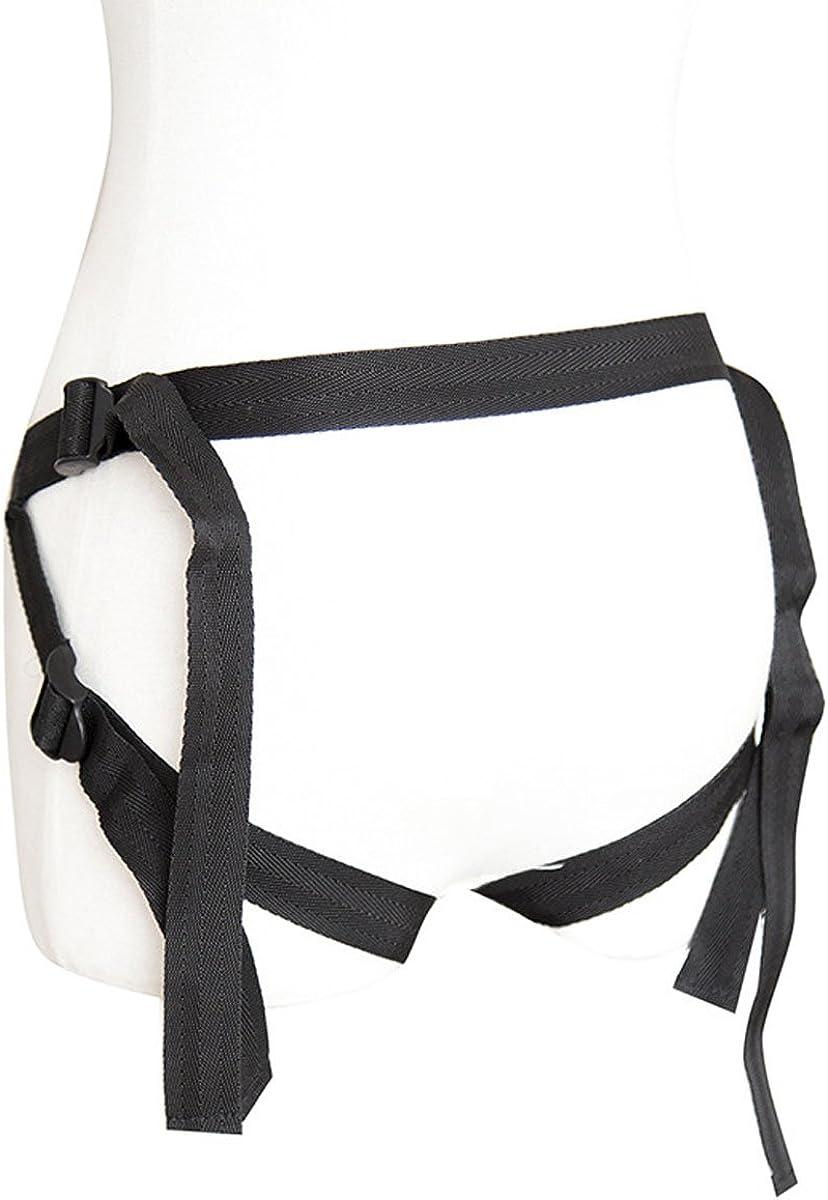 Jedwonwon Underwear Lady Panty with Adjustable Belt Wearable for Women
