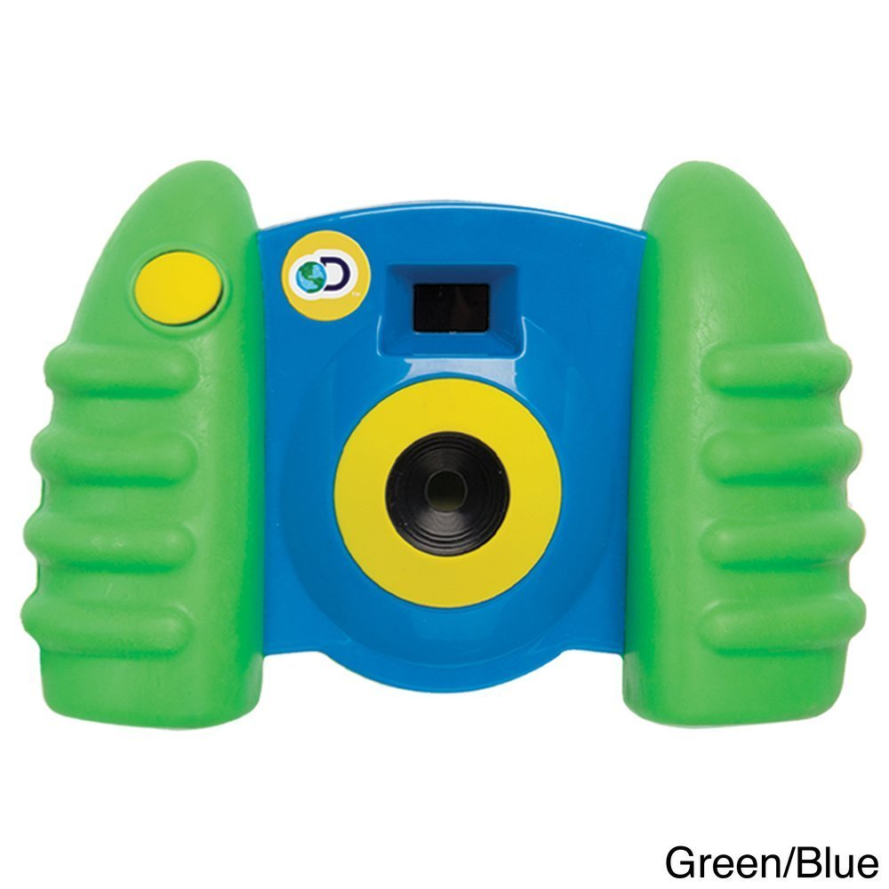 Discovery Kids Digital Blue Green Camera with Video with Full color LCD display and 16 MB of internal storage memory