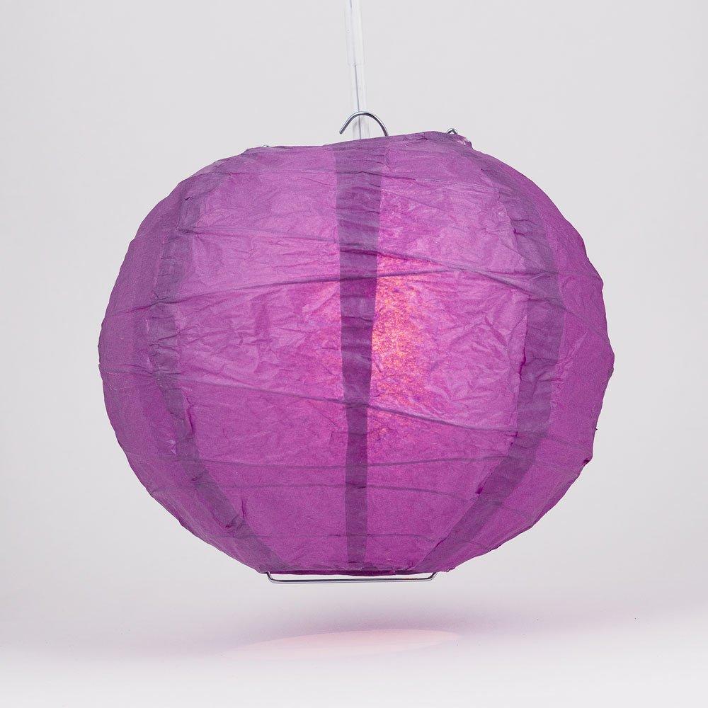 丸型ペーパーランタン 交差した骨 吊り下げ式 16 Inch 16IRR-VI 1 16 Inch Violet / Orchid Violet / Orchid 16 Inch B00T5EDZ2W