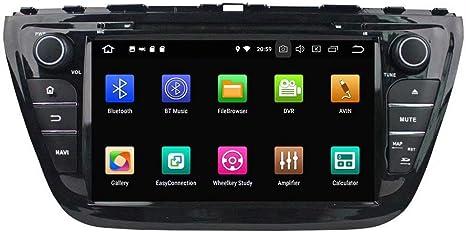 Amazon Com Roadyako 8inch Android 9 0 Auto Multimedia For Suzuki Sx4 2013 2014 2015 S Cross 2013 2014 2015 2016 Car Radio Stereo With Gps Navigation 3g Wifi Mirror Link Rds Fm Am Bluetooth Gps Navigation