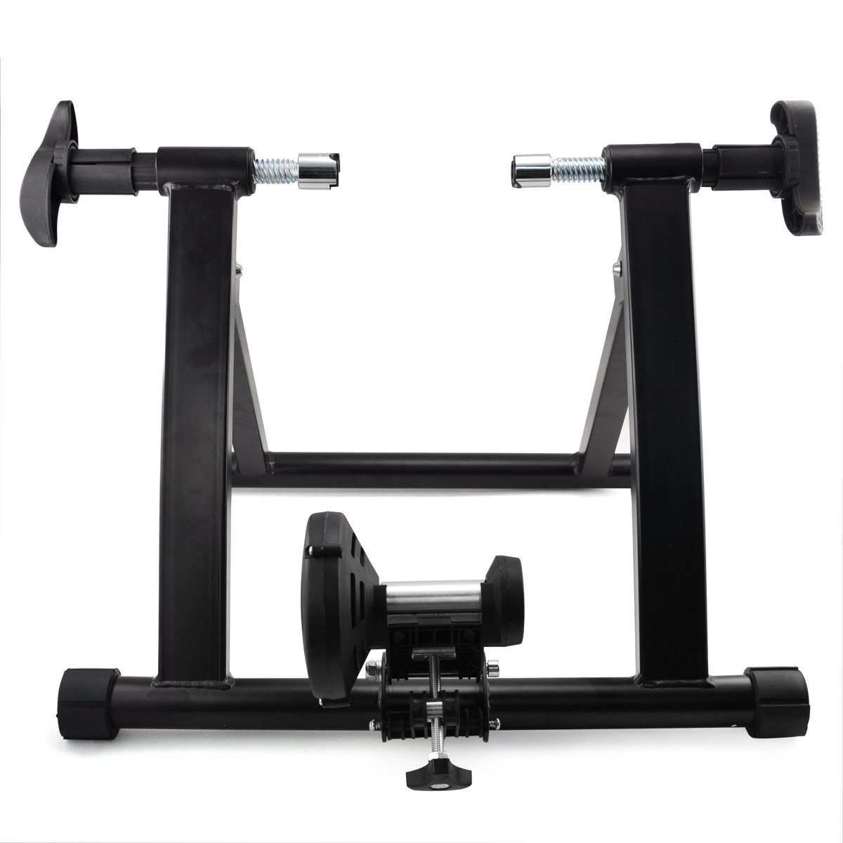 Yaheetech Indoor Exercise Bicycle Bike Trainer Stand/Bicycle Stand Magnetic Resistance Stationary