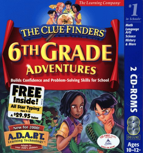 cluefinders 6th grade adventures