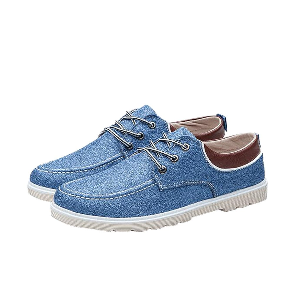Dear Time Men Lace Up Patchwork Board Shoes