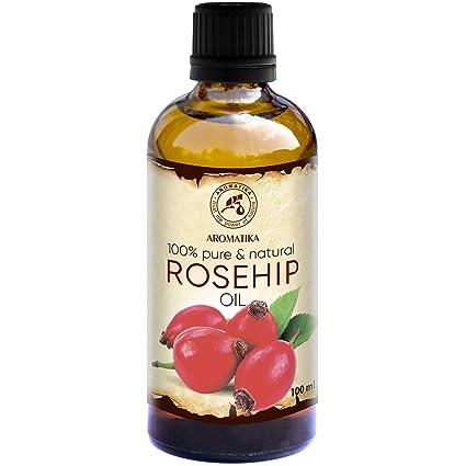 Aceite de Rosa Mosqueta 100ml - 100% Puro y Natural