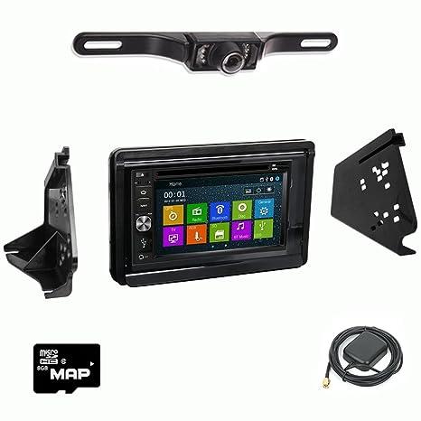 Amazon.com: DVD GPS Navigation Multimedia Radio and Dash Kit ...