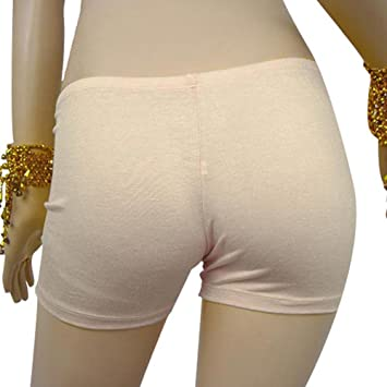 ESHOO mujeres danza del vientre traje algodón seguridad ropa interior Yoga gimnasio pantalones cortos ajustados Leggings
