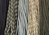 550 Paracord - Five Colors - 100 Feet Total