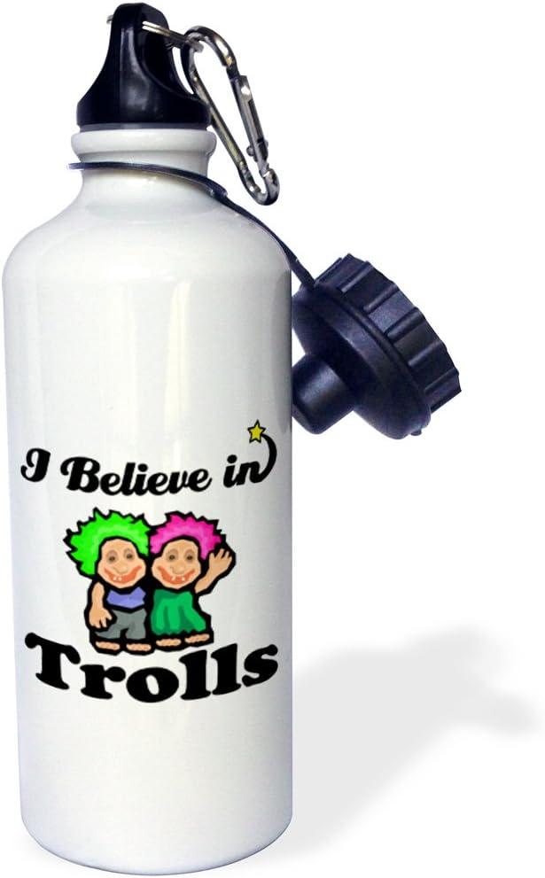 21 oz White 3dRose wb/_105783/_1 Bright Eye Heart I Love Being a Pediatrician Sports Water Bottle