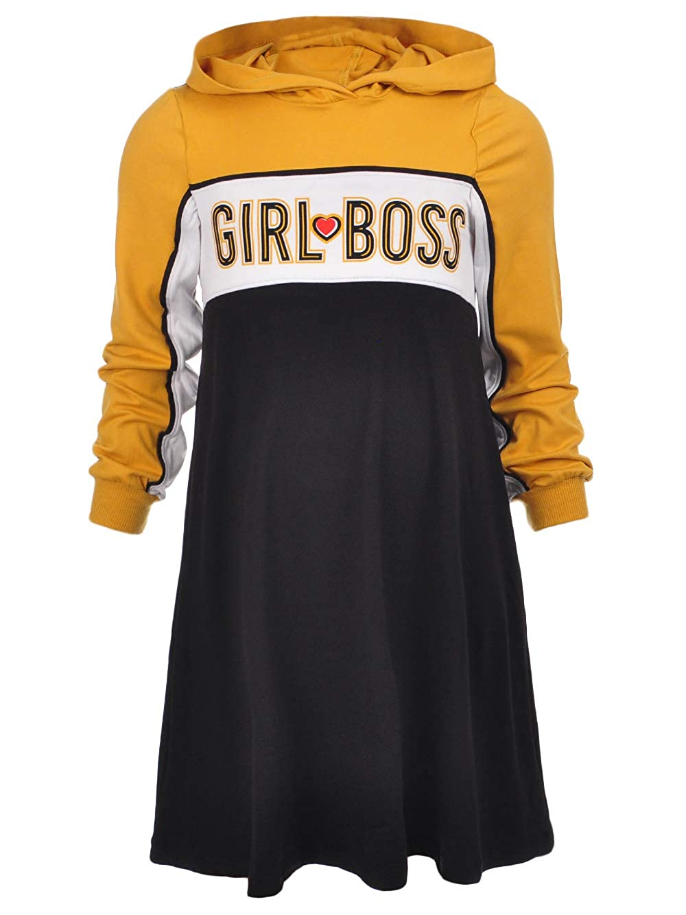 1st Kiss Girls' L/S Hooded Dress