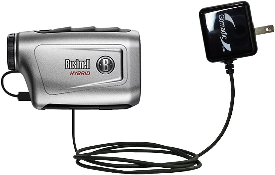 Gomadic High Output Home Wall AC Charger Designed for The Bushnell Hybrid Laser GPS with Power Sleep Technology - Intelligently Designed with Gomadic TipExchange