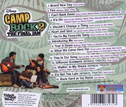 Camp Rock 2 Soundtrack